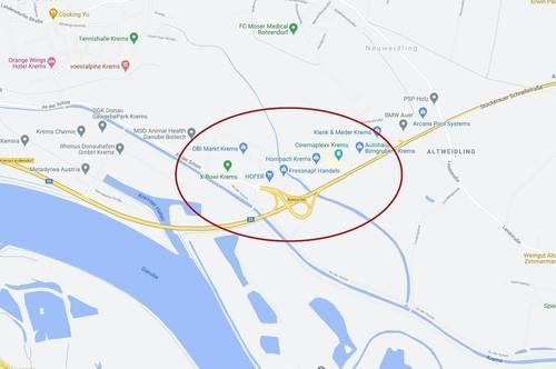 Krems Ost Gewerbepark: Betriebsbaugrundstück zu mieten
