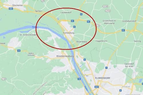 Bezirk Korneuburg: Industriegrundstück ca. 50.000 m² in TOP Lage zu kaufen