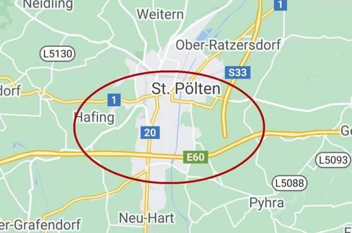 St. Pölten Süd/Nähe A1 Auffahrt - Lagerhalle ca. 1.600 m² langfristig zu mieten