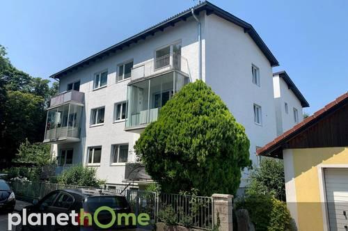 42 m2 Wohnung in ruhiger, zentrumsnaher Lage, Balkon mit Parkblick