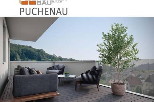 Puchenau   Neubau - hochwertige 4-Raum-Wohnung mit großzügigen Freiflächen - Grünruhelage