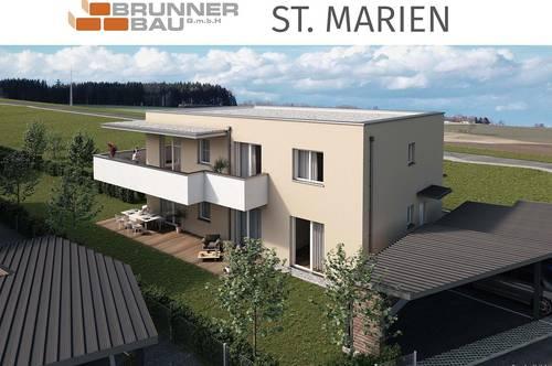 Zusperren und frei sein - Hochwertige Eigentumswohnung mit großem Balkon - St. Marien