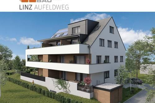 NEU - Dachgeschoß - Moderne Maisonette-Wohnung in der Nähe der JKU - Wohnen am Grünen Stadtrand von Linz