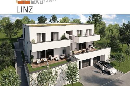 Maisonette-Wohnung in Grünlage - Linz - Neubau von hochwertigen Eigentumswohnungen - Verkaufsbeginn