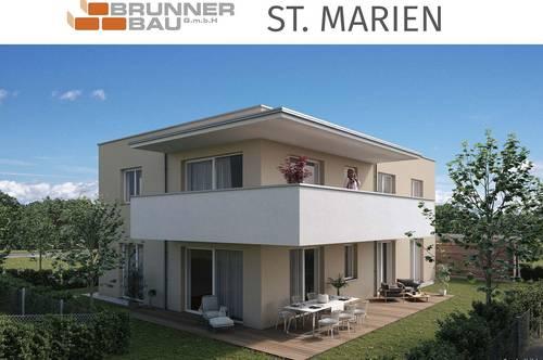 Leistbares Wohnen in toller Gartenwohnung - St. Marien
