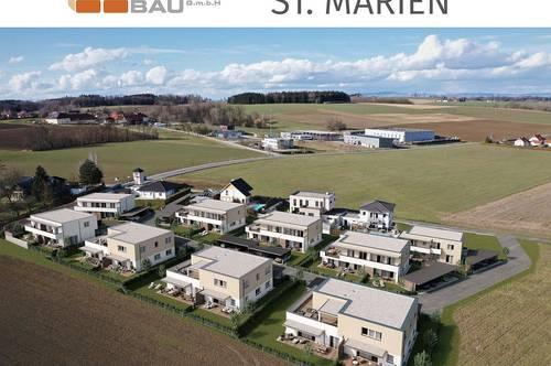 Verkaufsstart - modernes Wohnen in sonniger Grünruhelage mit großzügigen Freiflächen