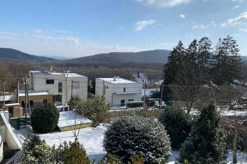 Exklusives Grundstück mit Fernblick für den Bau Ihres Traumhauses! Exclusive Architect Villa with Pool in a Beautiful Green Area with an amazing view of the inner city of Vienna!