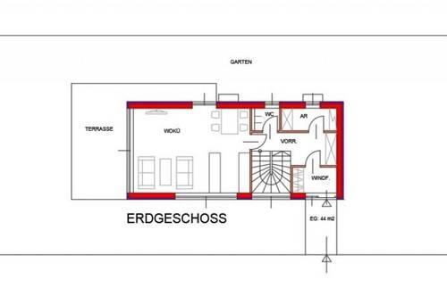 10 Minuten vor Wien! ERSTBEZUG! Einfamilienhaus vor Baubeginn in Langenzersdorf! Reserviert bis 29.9.2020!
