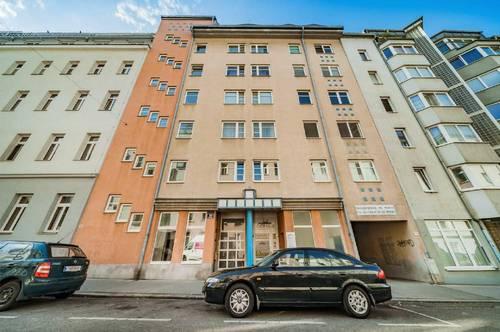 3-Zimmer Dachgeschosswohnung nahe Reumannplatz. WG geeignet