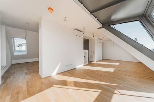 Traumhafte Dachterrassenmaissonette - 1040 Wien - ERSTBEZUG