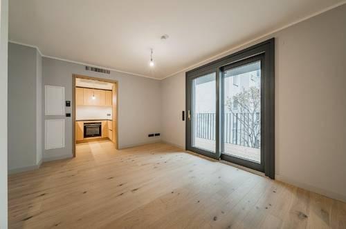 ERSTBEZUG - Studio A by CONRAN + PARTNERS - 2 Zimmerwohnung mit 2 Balkonen
