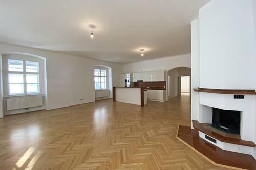 Wohnen in der historischen Wiener Innenstadt: 3-Zimmer-Altbauwohnung