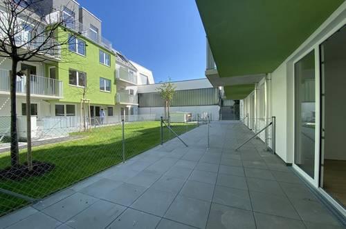 Moderne 1,5 Zimmer- Gartenwohnung in Liesing zum Erstbezug   PROVISIONSFREI