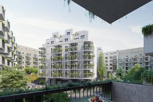 Einzigartige Gartenwohnung zum Erstbezug ab 1.10. bezugsfertig | Wohnen im Wohngarten: DEINE GRÜNE OASE IN SIMMERING