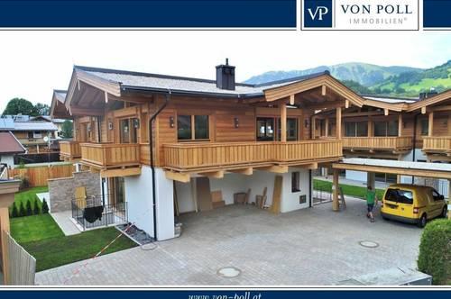 Neues Doppelchalet auf der Sonnenseite von Aurach bei Kitzbühel
