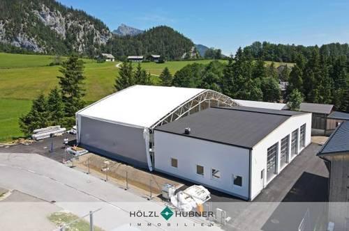 Neubau: Vielseitige Garagen/Hallenflächen
