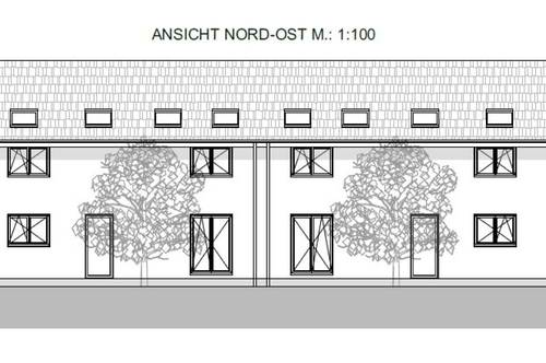 Neubau Doppelhaushälfte in Seefeld