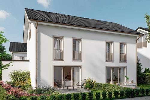 Doppelhaushälfte mit ausgebautem Dachgeschoss