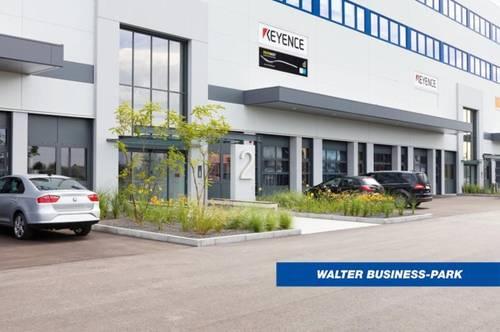 Modernes, helles Büro (257 m²) mit Loggia inkl. Lager (655m²) in Wiener Neudorf mit Gratis-Parkplätzen im WALTER BUSINESS-PARK, provisionsfrei!