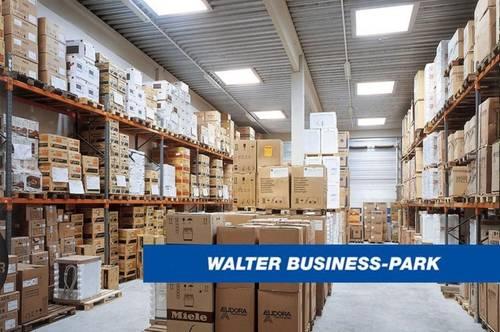 Geräumige Lagerhalle mit Büro im Süden Wiens, provisionsfrei - WALTER BUSINESS-PARK