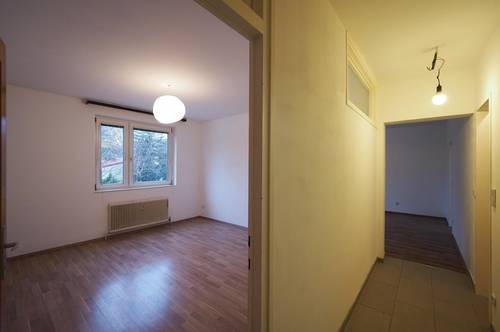 Zentrumsnahe Zweizimmerwohnung mit Wohnküche und Loggia - WG-tauglich