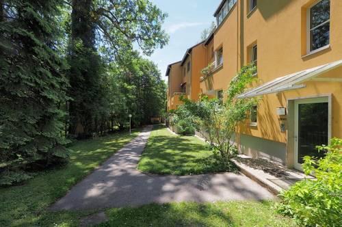 idyllische süd/östlich ausgerichtete Wohnung im Grünen
