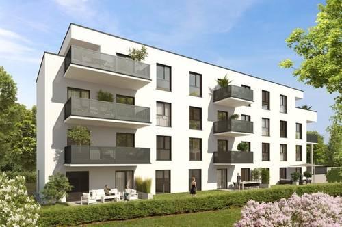 Stilvoll Wohnen in Waltendorf   Exklusive 90m² Erstbezugswohnung mit Balkon in urbaner Ruhelage!