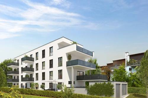 Stilvoll Wohnen in Waltendorf   Exklusive Erstbezugswohnung mit Balkon in urbaner Ruhelage!