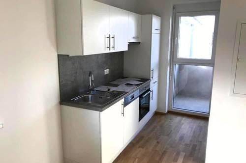 Moderne 45m² Neubauwohnung mit Küche & Balkon | ab Mai verfügbar!