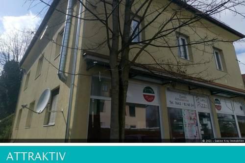 Gepflegte 3 Zimmer - Dachgeschoßwohnung Nonntal mit Balkon