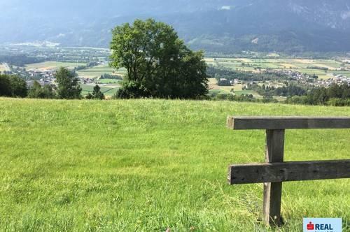 Dolomitenblick in der Dolomitenstadt
