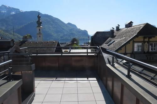 Penthouse der Extraklasse am Wolfgangsee im Herzen von St. Gilgen
