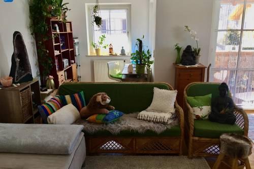 Gemütliche 3-Zimmer-Wohnung mit Bergblick