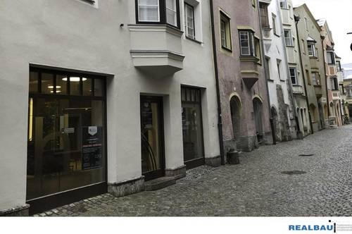 Geschäftslokal in der Haller Altstadt