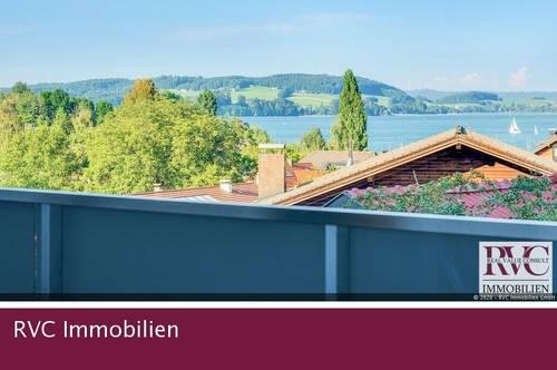 SEEBLICK Erstbezug! Luxuriöses Balkonjuwel in zentraler Ruhelage - Haustiere willkommen!