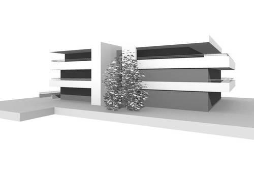 Neubau Urban Living - Top 6 Balkonoase