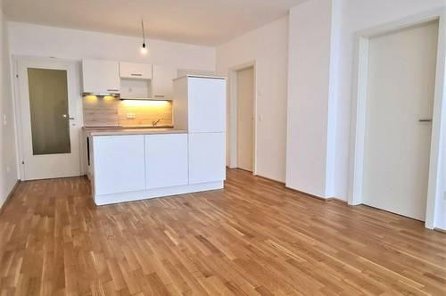 FAMILIENHIT! WIDERINSTRASSE; 70 m2 Neubau inklusive 10 m2 Loggia, 3 Zimmer, Komplettküche, Wannenbad, Parketten, Ruhelage