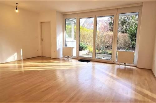 GARTENHIT! LÖWENTHALGASSE, sonnige 69 m2 Neubau mit 119 m2 Terrasse/Garten, 3 Zimmer, Komplettküche, Wannenbad