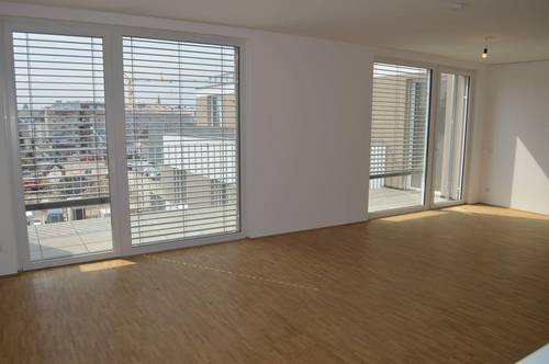 DACHGESCHOSS! Maximilianstraße, Erstbezug, klimatisiertes 116 m2 Dachgeschoß mit 93 m2 Terrasse, 4 Zimmer, Komplettküche, 2 Bäder; exclusive Ausstattung, Fernblick!