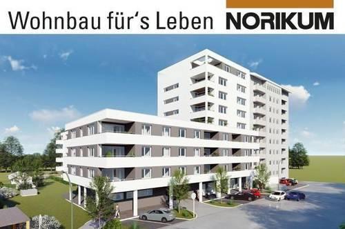 Vöcklabruck, Wohnpark Heschgasse - 2-Zimmer-Wohnung Haus 1 Top 8/1.OG