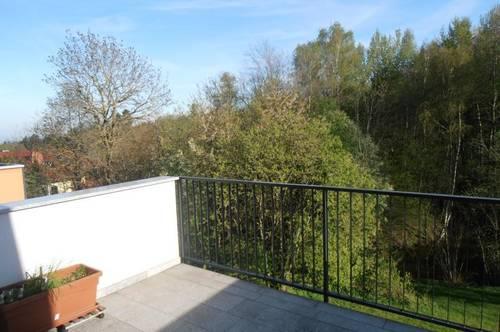 Ortszentrum, helle,tolle 3 Zi. Wohnung,74 m²  WNFL+ Balkon 11 m², 2 Parkplätze, idyllische, südliche Lage, Küche geg. Ablöse, Linz 6 km entfernt