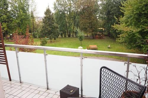 Grünruhelage in Urfahr! 80 m² WNFL plus 6 m² Balkon, Küche möbliert (Ablöse),3 Zimmer, Tiefgaragenplatz! Straßenbahnnähe! Unbefristeter Mietvertrag!