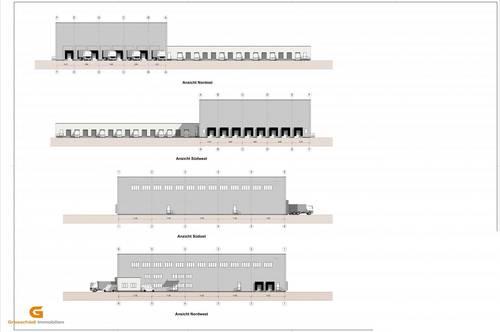 Stadtnähe - neues Bauvorhaben Distributions/Logistikzentrum zu vermieten