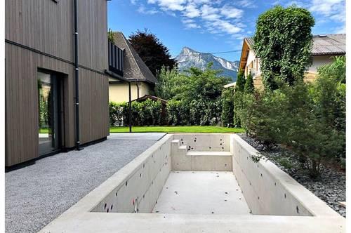 Erstbezug! Traumhafte 3-4 Zimmer Gartenwohnung mit Pool in Gneis Salzburg Stadt