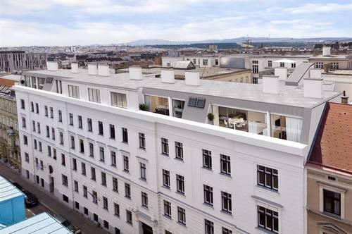 Erstbezug! Schöne sonnige 2 Zimmer Stadtwohnung mit großen Balkon in Wien