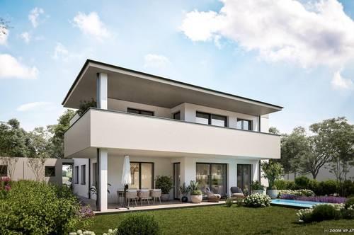 wunderschöne Terrassenwohnung in Doppelhaus