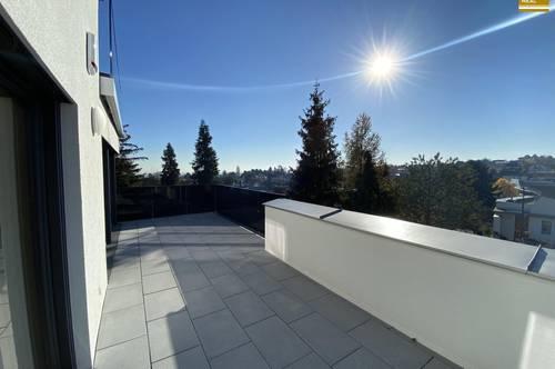 Exklusive Terrassenwohnung am Schafberg - Erstbezug