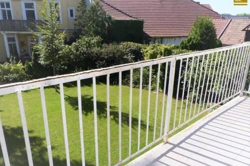 Balkon ins Grüne - 2-Zimmerwohnung