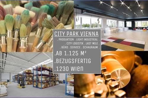 1230 Wien, CITY PARK VIENNA Büro - Lager - Service - Schauraum Perfekte Flächen für Betriebe!