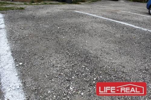 Autoabstellplatz im Freien